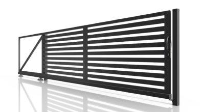 Profilowe ogrodzenie posesyjne PRO 80 x 20
