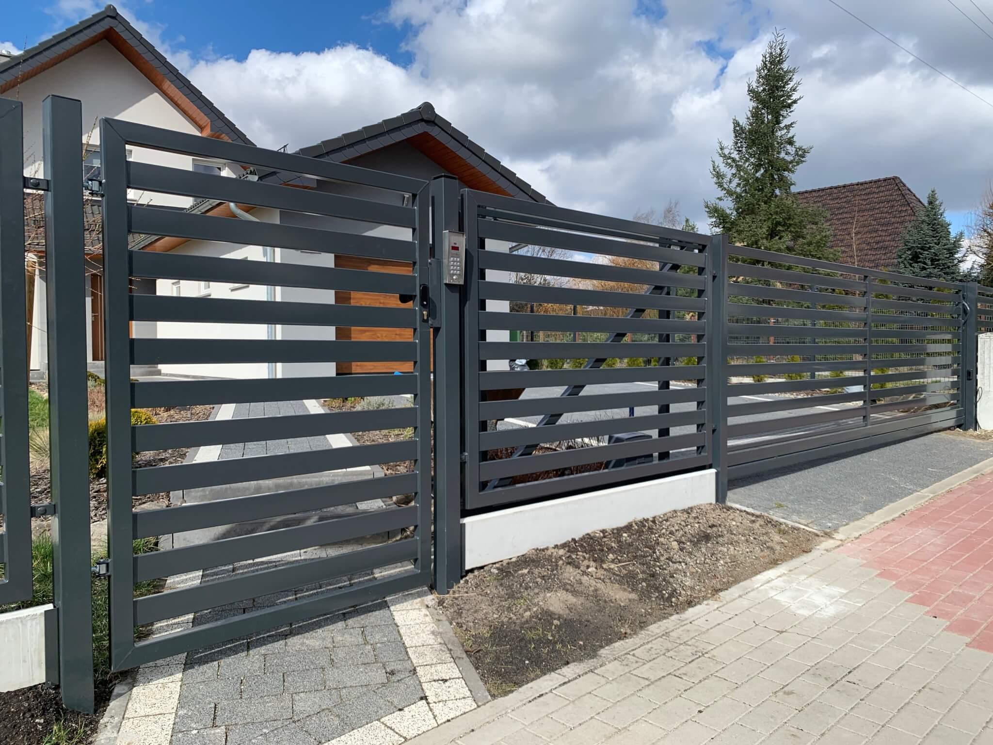 Cudowna Ogrodzenia posesyjne, ogrodzenia frontowe, ogrodzenia z profili RR25