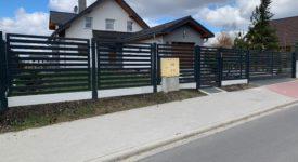 Frontowe ogrodzenia posesyjne
