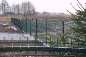 Panele ogrodzeniowe wypukłe typ A