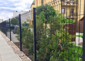 ogrodzenie z paneli systemowych