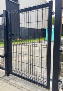 panelowa bramka wejściowa