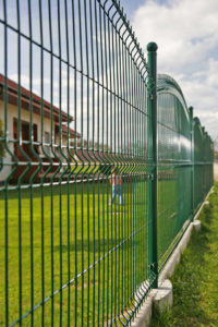 ogrodzenie panelowe zielone