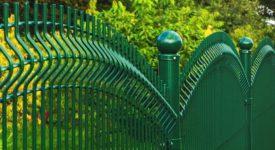 panele ogrodzeniowe zielone