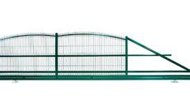zielone brama wjazdowa