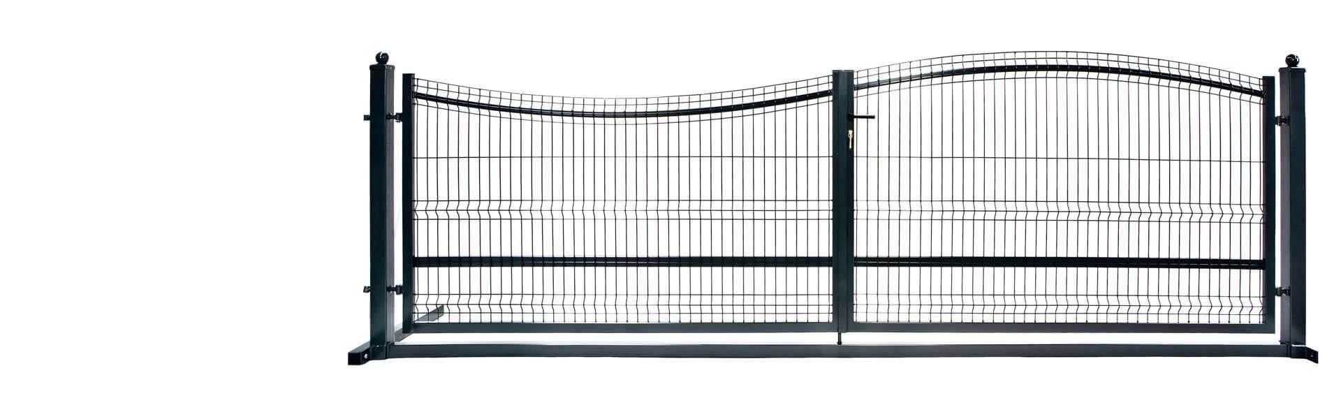 Bramy panelowe przesuwne i dwuskrzydłowe