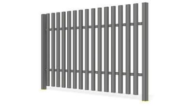 ogrodzenia posesyjne pro 60x20 proste