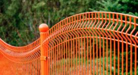 ogrodzenie panelowe typ FALA